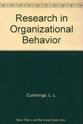an introduction to the analysis of organizational behavior