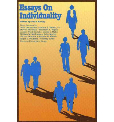 Essays on society and individuality