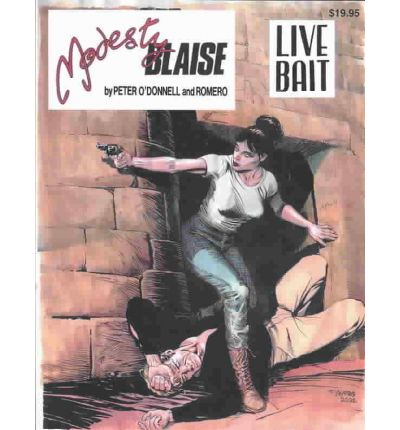 Epub ibooks downloads Modestry Blaise, Live Bait by Peter O'Donnell, Joe Hayes in Swedish PDF ePub iBook