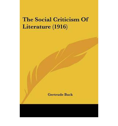 """a description of the social criticism in literature That both """"the new criticism and the literary theory that displaced it    have an   i consider practices of description in the work of two social scientists."""