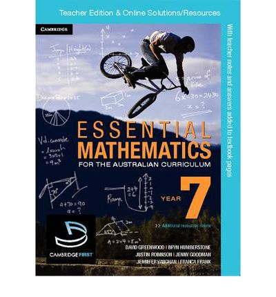 Essential Mathematics for the Australian Curriculum Year 7 Teacher Edition
