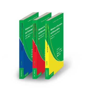 Advances in Economics and Econometrics 3 Volume Paperback Set : Theory and Applications, Tenth World Congress