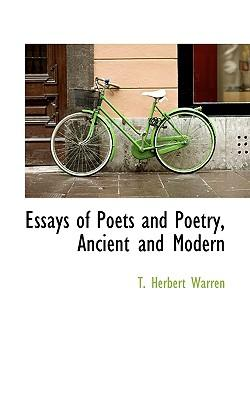 essays on poets An essay on poetry this essay an essay on poetry and other 63,000+ term papers, college essay examples and free essays are available now on reviewessayscom.