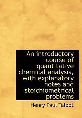 quantitative coursework chemistry Quantitative chemistry is a very important branch of chemistry because it enables chemists to calculate known quantities of materials for example, ho.