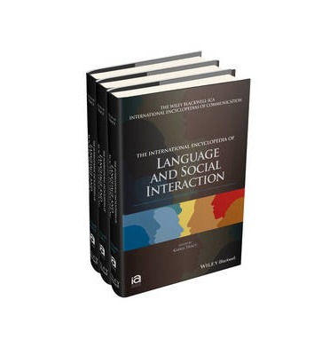 The International Encyclopedia of Language and Social Interaction