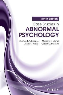 abnormal psychology case studies Unit 12: abnormal psychology case studies ii possible symptoms: paranoid delusions grandiose delusions word salad hallucinations.