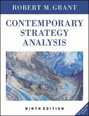 the management of strategy concepts and cases 9th edition For undergraduate courses in strategic management, strategy, and business policy a survey of strategic management briefest concepts section in the market at 350 pages practical, skills focus with over 50 experiential exercises in the concepts portion all cases are written exclusively for the.
