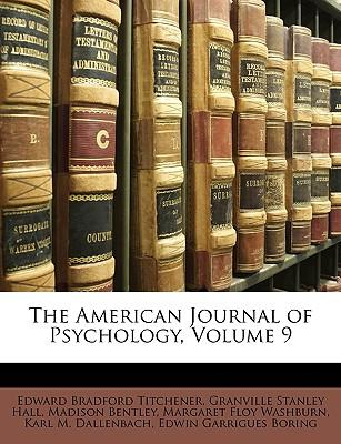 Scarica google books come pdf completo The American Journal of Psychology, Volume 9 by Edward Bradford Titchener, G Stanley Hall, iBook 1148398554