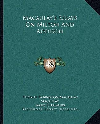 macaulay essays Macaulay essays - allow us to take care of your master thesis craft a timed custom term paper with our assistance and make your teachers shocked dissertations.