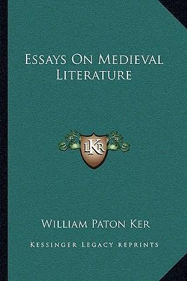 medieval literature essay I the reason of topic selection as i am taking a course of english literature, i came across chaucer's canterbury tales and, it occurred to me that it ca.