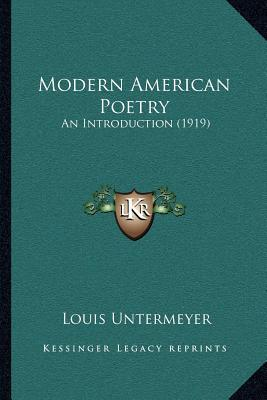 an introduction to american poetry in 1990 An introduction to american history, 1860-1990 alan farmer and vivienne sanders a hodder education publication access to history context this title introduces the.