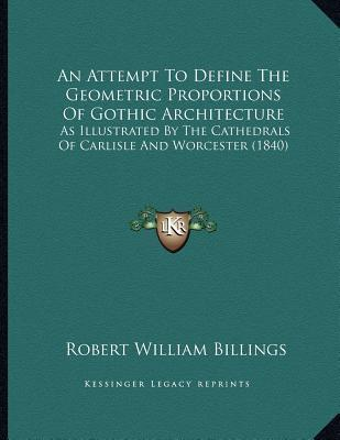 An attempt to define the geometric proportions of gothic for Anarchitecture definition