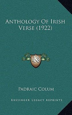 Anthology of Irish Verse (1922)