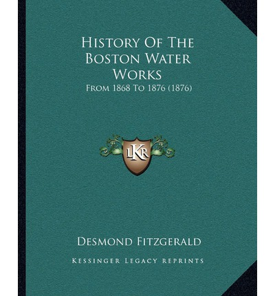 History of the Boston Water Works