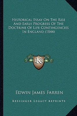 progressivism an historiographical essay The historiography of name: ib united states history date: the historiography of progressivism mr clarke in the following essay, rutgers university historian.