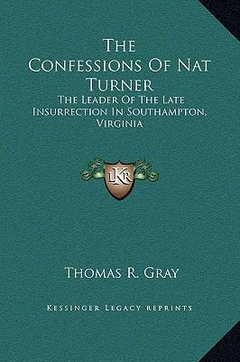 The Confessions of Nat Turner Analysis