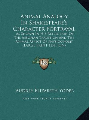 shakespeares portrayal of characters Characters of shakespear's plays is an 1817 book of criticism of shakespeare's  plays, written  portrait of comic exuberance incarnate, though perhaps in part  a creation of his own imagination rather than being entirely faithful to the  character.