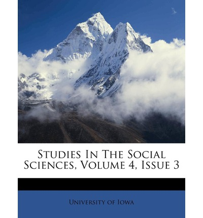 Studies in the Social Sciences, Volume 4, Issue 3