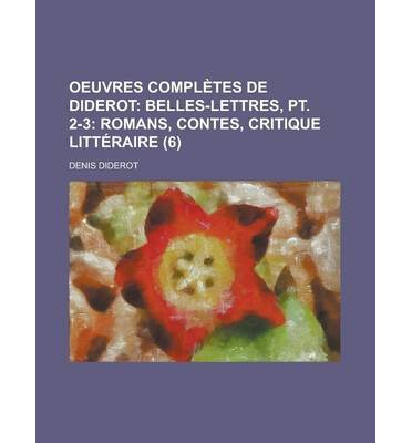 Oeuvres Completes de Diderot (6)