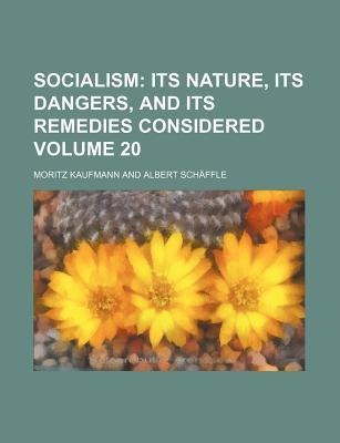 Socialism Volume 20; Its Nature, Its Dangers, and Its Remedies Considered