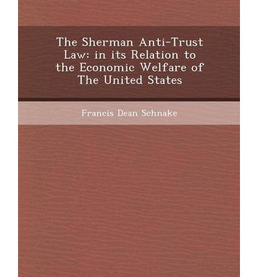 sherman antitrust act research paper