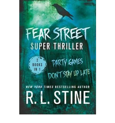 R.L. Stine Fear Street Books - The Cat and The First Horror - 80's / 90's Horror