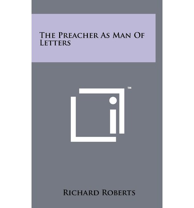 The Preacher as Man of Letters