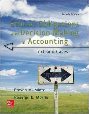 ethical obligations and decision making in accounting pdf