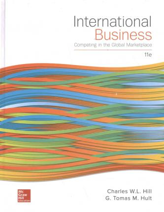 hill c w 2009 international business competing in the global marketplace 7th ed new york mcgraw hill International business: competing in the global marketplace 7th ed all formats and editions (8) published new york: mcgraw-hill higher education.