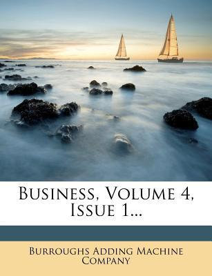 Business, Volume 4, Issue 1...