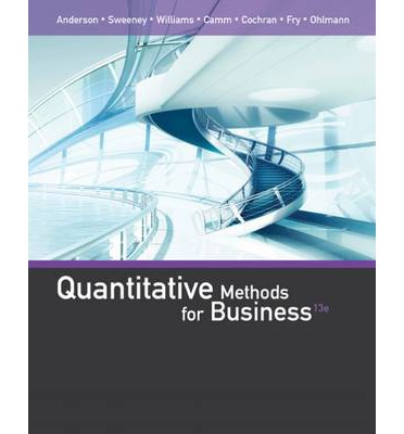 Quantitative Techniques in Business