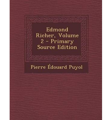 Edmond Richer, Volume 2