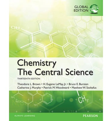Chemistry : The Central Science 13th ed w/ Solutions to Exercises Book