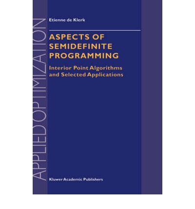 Aspects of Semidefinite Programming