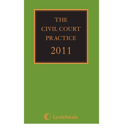 The Civil Court Practice (the Green Book) 2011