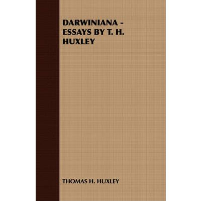 Thomas huxley essays on poverty