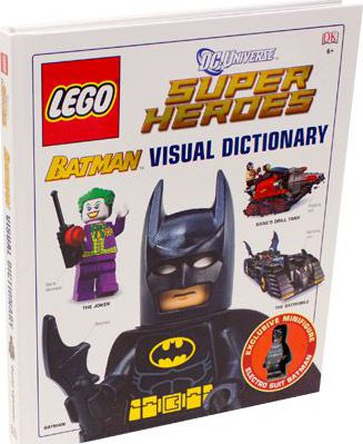 LEGO Batman Visual Dictionary LEGO DC Universe Super Heroes
