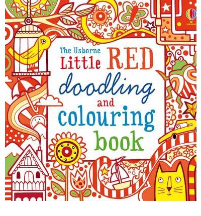 Pocket Doodling and Colouring Book : Red Book