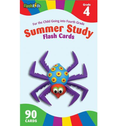 Summer study flash cards Grade 4