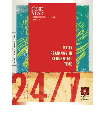 24 7 Bible Nlt A One Year Chronological Bible Tyndale border=