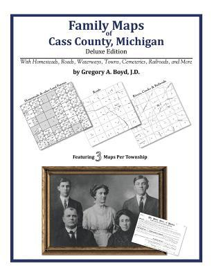 Family Maps of Cass County, Michigan