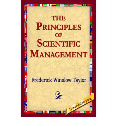 the central principles of scientific management Human relations theory and people management the minutiae of the human soul emerged as a new domain for management  there is a good guy and a bad guy who gets to play which role sometimes shifts, but most often the bad guy is the scientific management approach and the good guy is human relations theory this is a flawed story in my view.