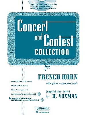 Concert and Contest Collection for French Horn : Solo Part W/CD