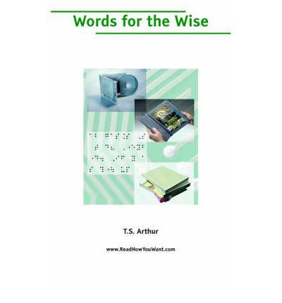 Words for the Wise (Large Print)