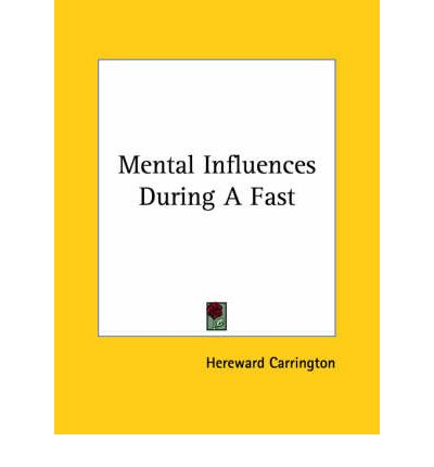 Mental Influences During a Fast
