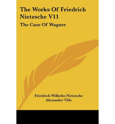 the work and philosophy of friedrich wilhelm nietzsche A page for describing creator: friedrich nietzsche friedrich wilhelm nietzsche (15 october 1844 – 25 august 1900) was an eccentric german author who.