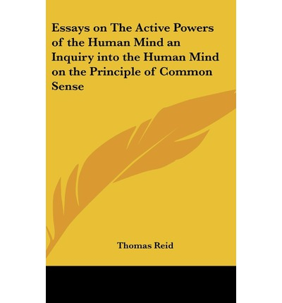 strategic human resource management dissertation Essays on the Active Powers of the Human Mind: An Inquiry Into the Human Mind on the Principles ...