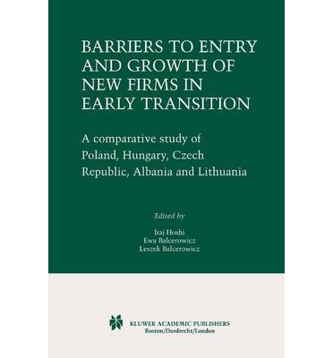 barriers to entry of new firms