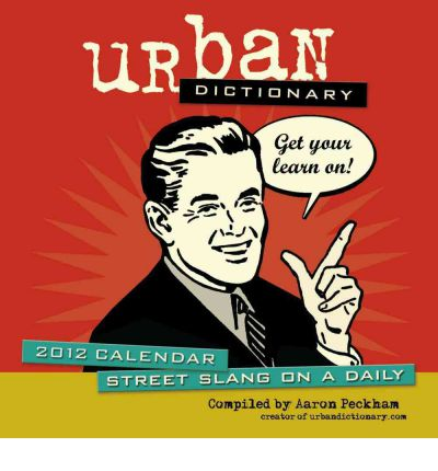 Urban Dictionary 2012 Box Calendar