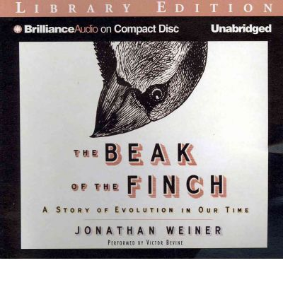 beak of the finch The beak of the finch is an elegantly written and compelling masterpiece of  theory and explication in the tradition of stephen jay gould.